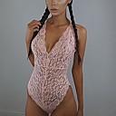 abordables Pelucas para Disfraz-Mujer Sexy Traje Ultrasexy Ropa de dormir Un Color