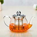 abordables Café y Té-Vidrio Manual 1pc Colador de té