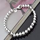 preiswerte Moderinge-Damen Perle Strang-Armbänder - versilbert Liebe Europäisch, Modisch Armbänder Silber Für Weihnachts Geschenke Party Geburtstag