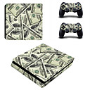 cheap PS4 Accessories-B-SKIN PS4 slim Sticker For PS4 ,  Novelty Sticker PVC 1 pcs unit