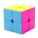 abordables Cubos de Rubik-Cubo de rubik YONG JUN 2*2*2 Cubo velocidad suave Cubos mágicos rompecabezas del cubo Nivel profesional Velocidad Cuadrado Año Nuevo Día