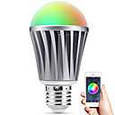 cheap Smart Lights-Smart LED E27 Bulb Bluetooth 4.0 RGBW Light Water Resistance / Dimmable / Timing / APP Remote Control / Sleeping Mood Lamp / Energy Saving
