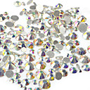 cheap Rhinestone & Decorations-400-500pcs/bag Tools & Accessories / Rhinestones / Nail Jewelry Rhinestone / Wedding / Sparkle & Shine Crystal / Rhinestone Style /
