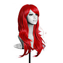 cheap Costume Wigs-high quality red long wavy women wig synthetic lolita cosplay wig 5 colors Halloween