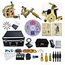 cheap Oil Paintings-BaseKey Tattoo Machine Professional Tattoo Kit, 3 pcs Tattoo Machines - 3 alloy machine liner & shader Professional