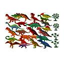abordables Vestidos Lolita-Dragones y dinosaurios / Juguetes de construcción / Figura de dinosaurio Dinosaurio jurásico / tiranosaurio / Velociraptor Animales /