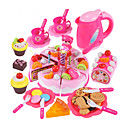 cheap Pretend Shopping & Grocery-Toy Kitchen Set Toy Food / Play Food Pretend Play Cake Cake & Cookie Cutters PVC(PolyVinyl Chloride) Kid's Boys' Girls' Toy Gift