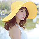 رخيصةأون حنفيات المطبخ-قبعة شمسية لون سادة نسائي عطلة / الصيف