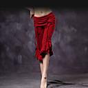 baratos Roupas de Dança do Ventre-Dança do Ventre Fundos Mulheres Treino Algodão Pregueado Babados em Cascata Caído Calças
