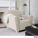 billige Møbelbetræk-Stole Dække Klassisk Solid 100% Polyester Møbelovertræk