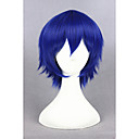 cheap Costume Wigs-Costume Wigs / Synthetic Wig Straight Blue Women's Capless Cosplay Wig Short Synthetic Hair