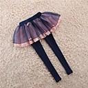 olcso Lány nadrágok és cicanadrágok-Napi Egyszínű Nyár Lány Nadrágok Fekete Arcpír rózsaszín Tengerészkék