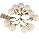 tanie Żarówki LED Kulki:-4m Łańsuchy świetlne 20 Diody LED EL Ciepła biel / RGB <5 V / IP44
