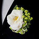 cheap Wedding Flowers-Wedding Flowers Bouquets Boutonnieres Others Artificial Flower Wedding Party / Evening Material Lace Satin 0-20cm