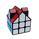 billige Rubiks kuber-Rubiks kube Alien Glatt Hastighetskube Magiske kuber Kubisk Puslespill Glatt klistremerke Hus Barne Voksne Leketøy Unisex Gutt Jente Gave