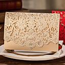 billige Rustfritt stål-Sjal & Lomme Bryllupsinvitasjoner 20 - Andre Invitasjonskort Klassisk Materiale Kort Papir Blomst