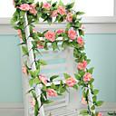 baratos Flor artificiali-Flores artificiais 1 Ramo Estilo Moderno Rosas Guirlandas & Flor de Parede