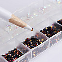 billige Negleglitter-2500 pcs Nail Art Design Mote Daglig