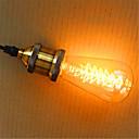 abordables Bombillas Incandescentes-1pc 40W E26 / E27 ST64 2300k Bombilla incandescente Vintage Edison 220V 220-240V