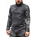 abordables Equipo de protección-Camiseta de caza Hombre Resistente al Viento / Impermeable / Listo para vestir Clásico Top Manga Larga para Caza / Deportes recreativos / Transpirable