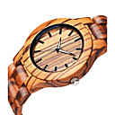 billige Kjoleur-Herre Armbåndsur Quartz Af Træ Træ Bånd Analog Elegant Beige
