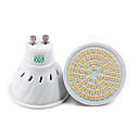 billige Bi-pin lamper med LED-YWXLIGHT® 7W 500-700lm GU10 GU5.3(MR16) E26 / E27 LED-spotpærer 72 LED perler SMD 2835 Dekorativ Varm hvit Kjølig hvit Naturlig hvit