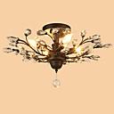 baratos Luminárias de Teto-LightMyself™ 4-luz Montagem do Fluxo Luz Ambiente - Cristal, Designers, 110-120V / 220-240V Lâmpada Não Incluída / 15-20㎡ / E12 / E14