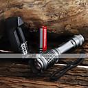 ieftine Lanterne-UltraFire Lanterne LED LED 2000 lm 5 Mod LED Cu Baterie și Încărcător Zoomable Focalizare Ajustabilă Rezistent la apă