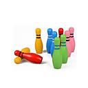 olcso Bowling Játékok-Labdák / Fából készült építőjátékok / Bowling Játékok Környezetbarát / Színes Fa Gyermek Ajándék