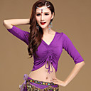 cheap Dance Accessories-Belly Dance Tops Women's Training Cotton / Modal Half Sleeve Top