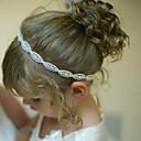זול הד פיס למסיבות-קריסטל / אבן נוצצת / בד רצועות / ביגוד לראש עם פרחוני 1pc חתונה / אירוע מיוחד / קזו'אל כיסוי ראש