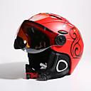 preiswerte Skis, Snowboards & Schneeschuhe-MOON Skihelm Unisex Erwachsene Skifahren Verstellbar One Piece Helm mit Googles City Extraleicht(UL) Sport Jugend PC EPS ASTM