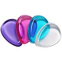 abordables Bolsas y Accesorios para Pinceles-Borla Para Maquillaje Maquillaje Silicona Elipse Rostro Cosmético Útiles de Aseo