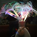 cheap Jewelry & Cosmetic Storage-2.5M 10Led Morning Glory Fiber Optic Battery Led String Strip Night Light Lamp Party Holiday Wedding Decor  Led Light