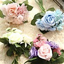 cheap Nail Glitter-Artificial Flowers 8 Branch Wedding Flowers Roses / Peonies / Daisies Tabletop Flower