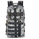 رخيصةأون حقائب الصيد-حقيبة ظهر 25 L - متعددة الوظائف مقاوم للماء يمكن ارتداؤها مقاومة الهزة في الهواء الطلق التخييم والتنزه السفر أسود التمويه الغاب الغابة الرقمية
