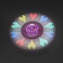 baratos Spinners de mão-Spinners de mão / Mão Spinner Por matar o tempo / O stress e ansiedade alívio / Brinquedo foco LED Spinner Plástico Clássico Peças Para Meninos / Para Meninas Dom