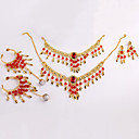 cheap Dance Accessories-Belly Dance Headpieces Women's Performance Metal Necklace / Headwear / Bracelets