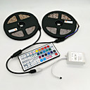 cheap LED Strip Lights-ZDM® 10m RGB Strip Lights 600 LEDs 2835 SMD RGB Remote Control / RC / Cuttable / Dimmable 12 V / Self-adhesive