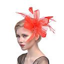 رخيصةأون قطع رأس-تول / ريشة / صاف قطع زينة الرأس مع 1 زفاف / مناسبة خاصة خوذة
