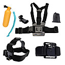 cheap Accessories For GoPro-Chest Harness / Front Mounting / Floating Buoy All in One For Action Camera Gopro 6 / All Gopro / Xiaomi Camera Diving / Surfing / Ski /