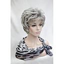preiswerte Aufkleber für Nägel-Synthetische Perücken Locken Synthetische Haare Perücke Damen Kurz Kappenlos