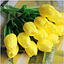 baratos Flor artificiali-Flores artificiais 5 Ramo Estilo Europeu Tulipas Flor de Mesa
