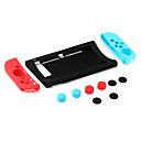 ieftine Accesorii Smartphone Game-KJH Genți, Cutii și Folii Pentru Nintendo comutator . Portabil Genți, Cutii și Folii Silicon unitate