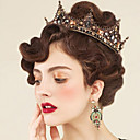 cheap Party Headpieces-Rhinestone / Alloy Tiaras / Headwear / Hair Pin with Floral 1pc Wedding / Special Occasion / Outdoor Headpiece