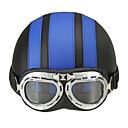 baratos Capacetes e Máscaras-Meio Capacete ABS capacetes para motociclistas