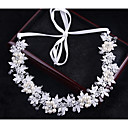 cheap Rings-Crystal / Imitation Pearl Headbands / Headwear / Head Chain with Floral 1pc Wedding / Special Occasion / Outdoor Headpiece