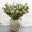 baratos Flor artificiali-Flores artificiais 1 Ramo Estilo Europeu Rosas Flor de Mesa
