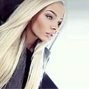 preiswerte Aufkleber für Nägel-Remi-Haar Spitzenfront Perücke Glatt 130% Dichte 100 % von Hand geknüpft Afro-amerikanische Perücke Natürlicher Haaransatz Kurz Medium