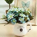 abordables Flores Artificiales-Flores Artificiales 1 Rama Estilo europeo Margaritas / Otros Flor de Mesa